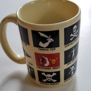 Pirate coffee cup